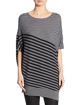 Wool Jersey Striped Sweater