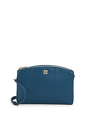 Asia Mini Leather Crossbody Bag