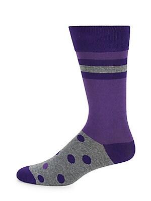 Polka Dot & Stripe Socks