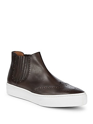 Alessio Leather Chelsea Sneakers