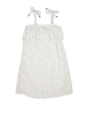 Girl's Alicia Crochet Heart Dress
