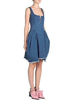Sleeveless Denim Dress