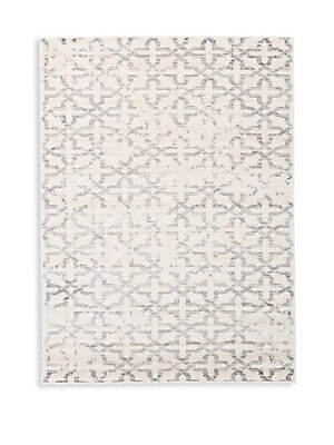 Madiba Geometric-Print Rug