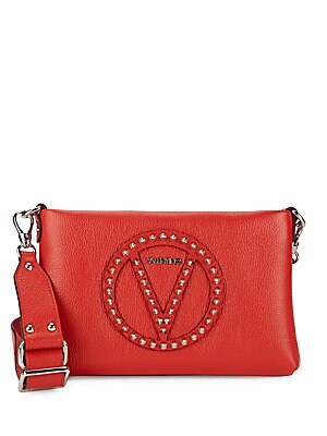 Vanile Studded Leather Crossbody Bag
