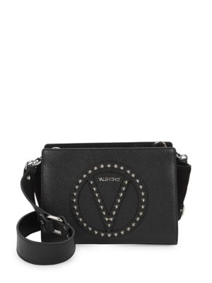 Studded Leather Crossbody Bag