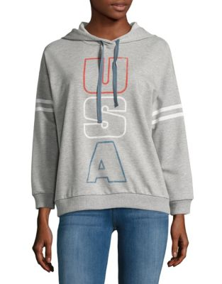 Text Graphic Hoodie