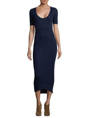 Elli Knit Bodycon Midi Dress