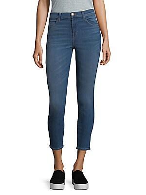 Alana High-Rise Cropped Jeans/Indigo