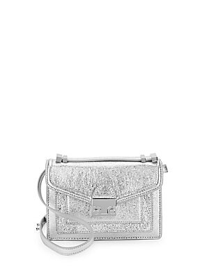 Mini Ride Metallic Crossbody Bag