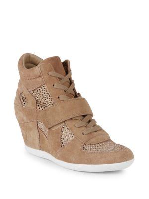 Bowie Mesh Wedge Sneakers