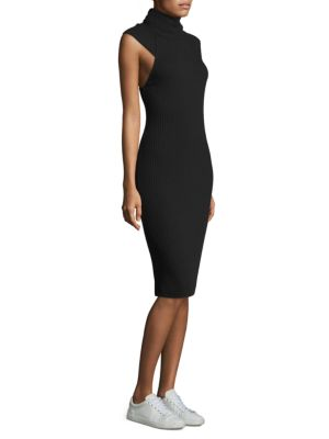 Mockneck Bodycon Dress