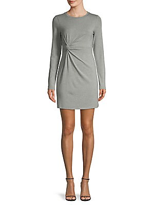 Twist Long-Sleeve Dress