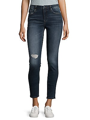 Marley Destructed Skinny Jeans