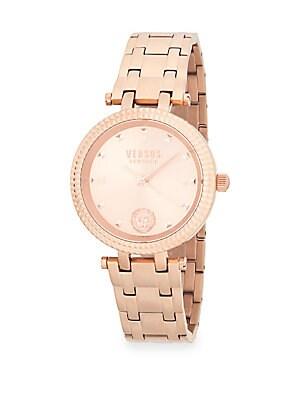 Logo Stainless Steel Bracelet Watch
