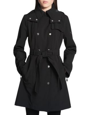 Classic Hooded Trench Coat