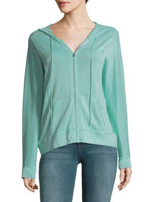 Full-Zip Cotton Hoodie