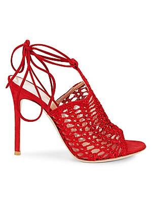 Crochet Ankle Strap Sandals