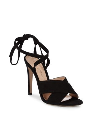 Ankle Strap Leather Sandals