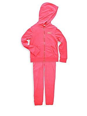 Girl's Hoodie & Sweatpants Set