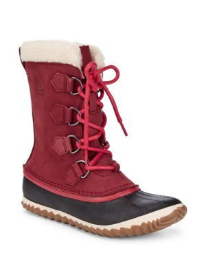 Caribou Faux Fur-Lined Cold Weather Boots