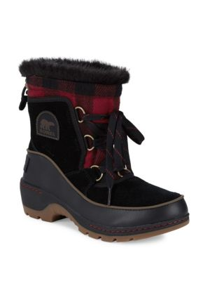 Faux Fur-Lined Cold Weather Boots
