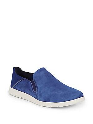Knox Suede Slip-On Sneakers