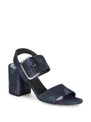 CITY DENIM SANDALS