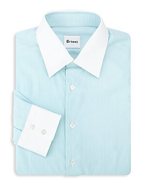 Contrast Dress Shirt