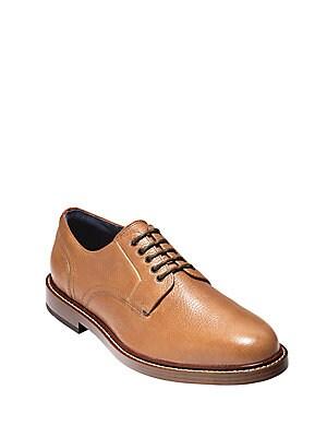 Adams Grand Almond Toe Leather Oxfords