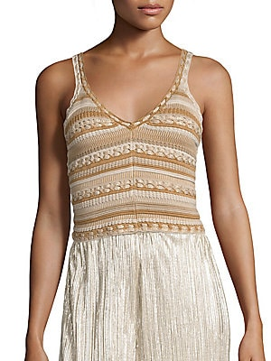 Sandrine Crochet Tank Top