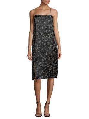 Kelby Silk Floral Slip Dress