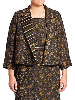 Chantal Elegante Floral Applique Jacket
