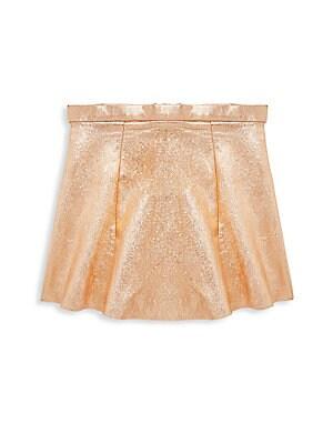 Little Girl's Metallic Skirt