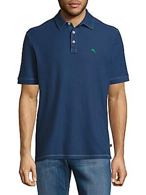 Tropical Pique Polo Shirt