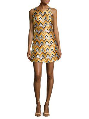 Multicolored A-Line Dress