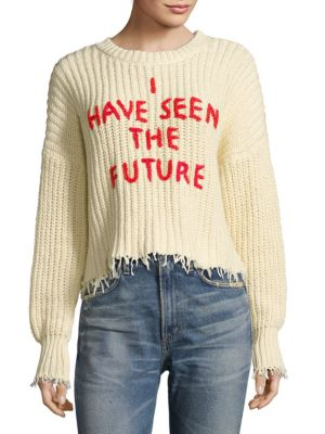 I Have Seen The Future Sweater