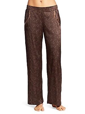 Adele Silk-Blend Wide-Leg Pants