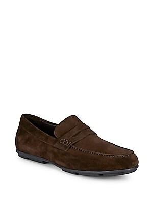 Leather Slip-on Loafer
