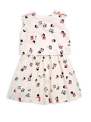 Little Girl's & Girl's Beach Blouseon Dress