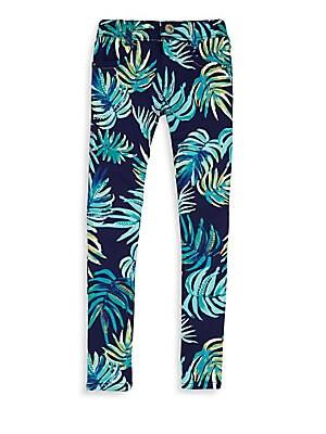 Little Girl's & Girl's Palm Jeans