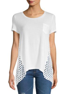 Hi-Lo Pocket T-Shirt