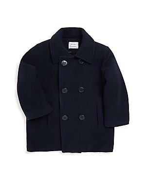 Little Girl's Double-Breasted Coat