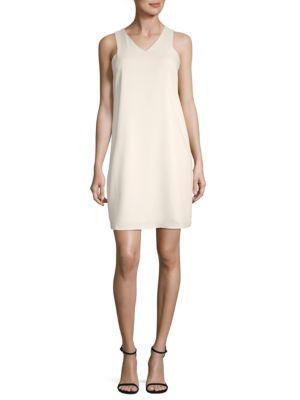 V-Neck Sleeveless Dress