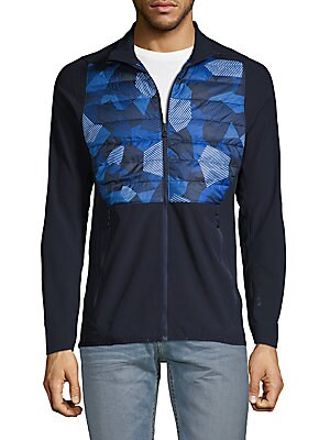 Active Hybrid Long Sleeve Jacket