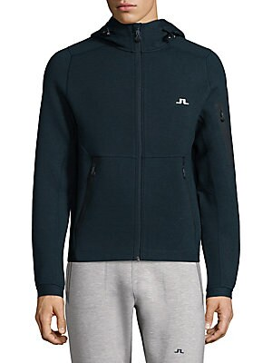 Active Athletic Hooded Jacket
