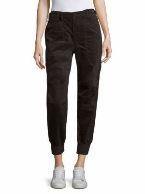 Slouchy Military Sweatpants