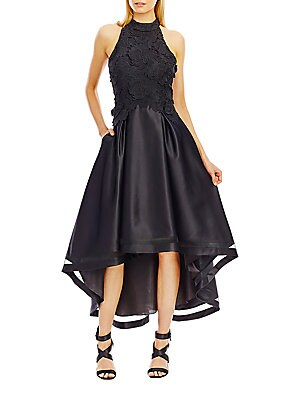 3D Lace Cocktail Dress
