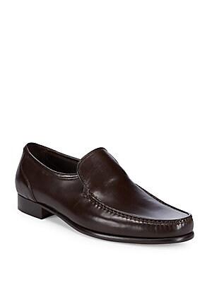 Sebastiano Classic Leather Loafers