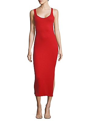 Tommy Ribbed Bodycon Dress