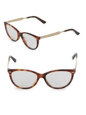 aeee7c16d37 GUCCI 50MM CAT EYE OPTICAL GLASSES